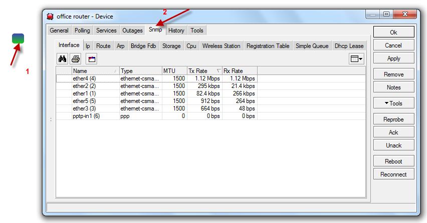 SNMP monitoring with dude mikrotik - Mikrotik Tutorials