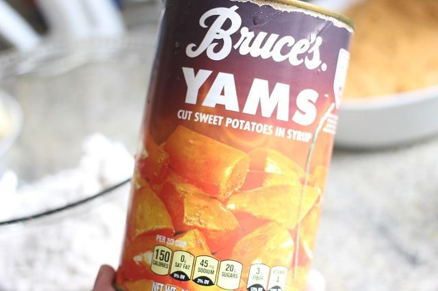 Grandma's Sweet Potato Casserole Recipe