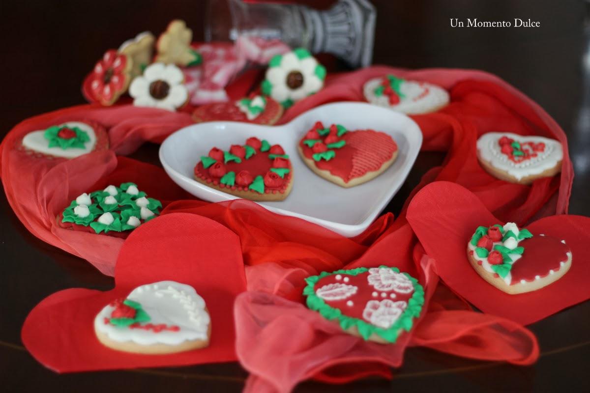 Un Momento Dulce Galletas Decoradas Xiii San Valentín 2014