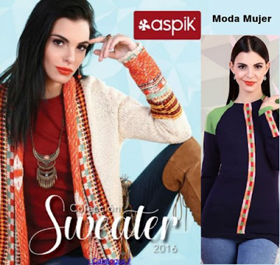 catalogo sweater aspik