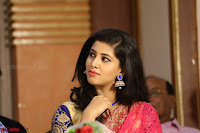 Lavanya in Red Saree at With Love Boys Movie First Look Launch 5th May 2017  Exclusive 006.JPG