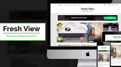 Fresh View template premium blogger gratis