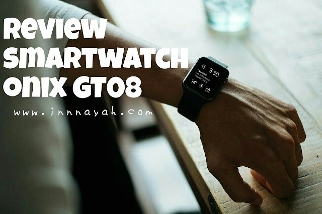 Review smartwatch onix gt08