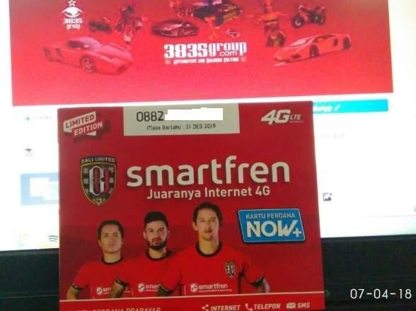 Smarfren Bali United Limited Edition