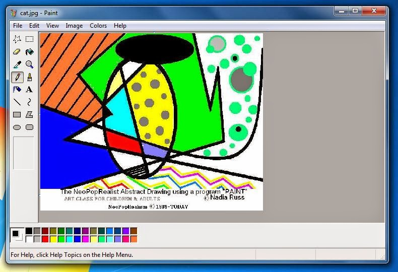 Art lesson plans neopoprealism ink pen pattern drawing Computer art software
