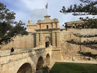 Mdina City Gate, Malta.