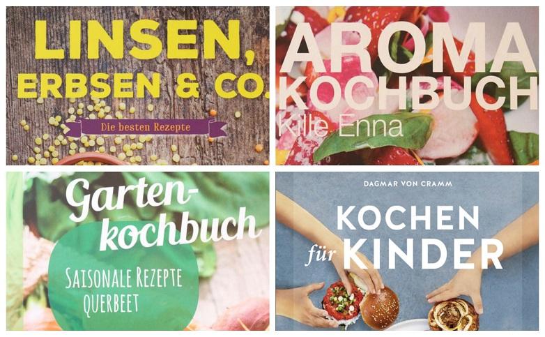 Kochbücher-Collage-Steiermarkgarten