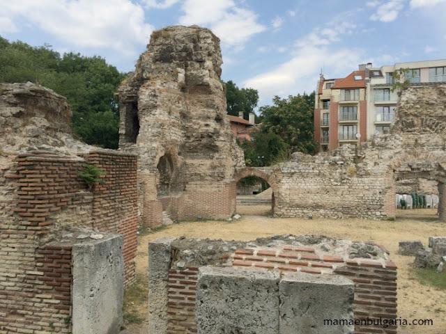 Las termas romanas de Varna, Bulgaria