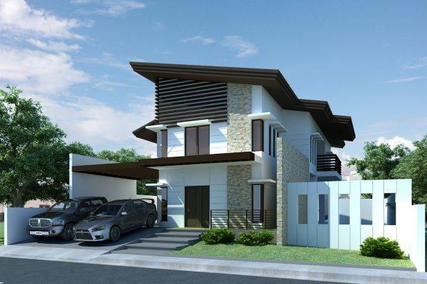 44 Contoh Model Atap Rumah Minimalis 2 Lantai Rumahku Unik