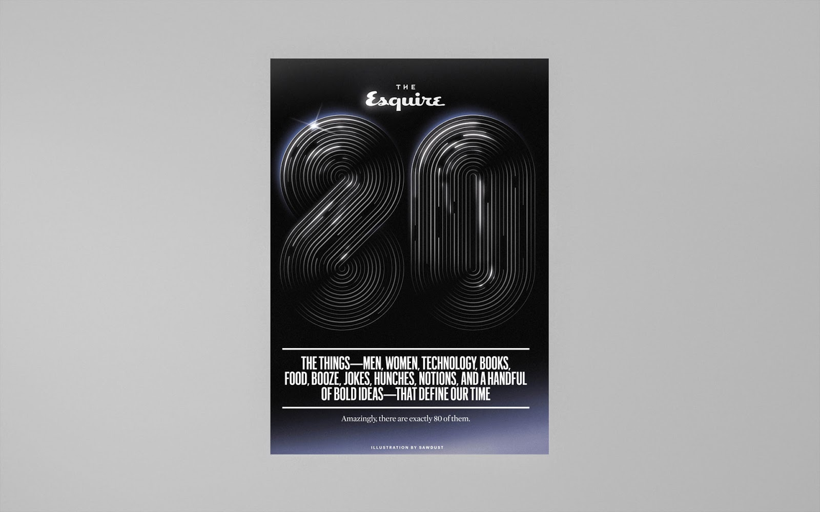 Sawdust - Graphic Design - the Esquire