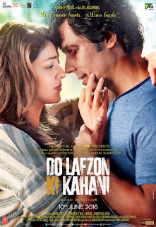 Do Lafzon Ki Kahani 2016 Hindi Movie 180Mb hevc HDRip