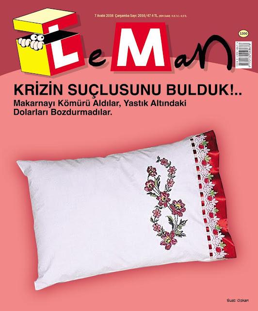 Leman Dergisi | 7 Aralık 2016 Kapak Karikatürü