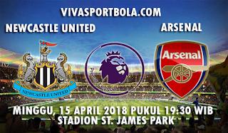 Prediksi Newcastle United vs Arsenal 15 April 2018