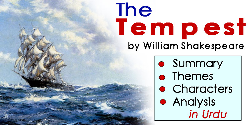 The Tempest in Urdu by William Shakespeare | Summary - Themes - Characters - Analysis | eCarePK.com