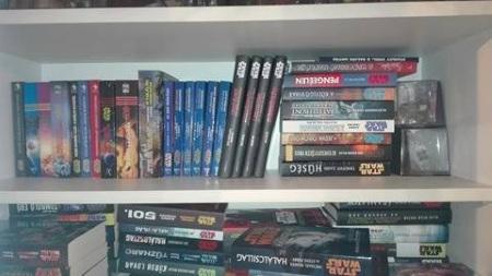 Blitzer Csaba Star Wars könyvespolc 3.