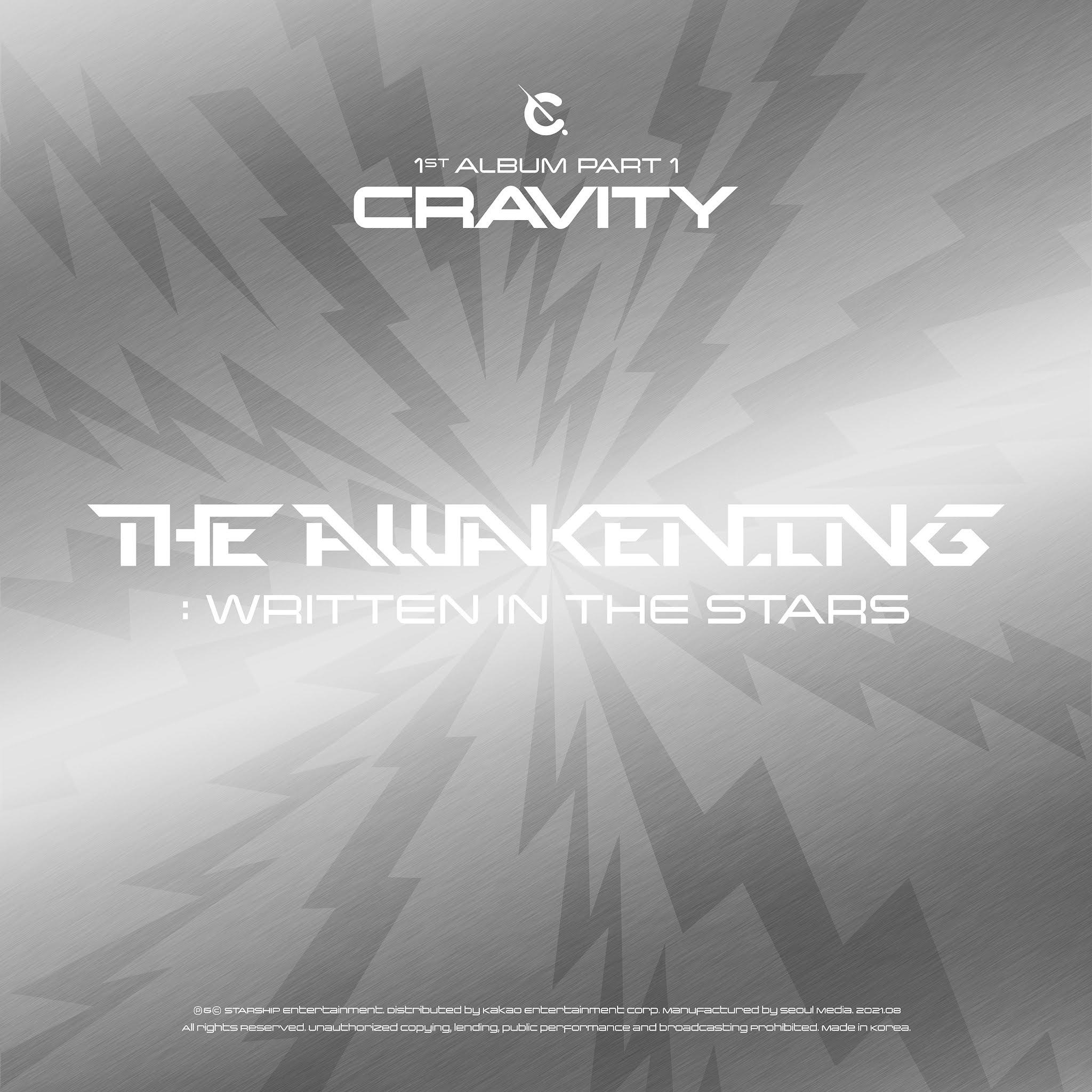 CRAVITY - CRAVITY 1ST ALBUM PART 1 [The Awakening: Written In The Stars]