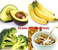 Vitamin B9 Asam Folat