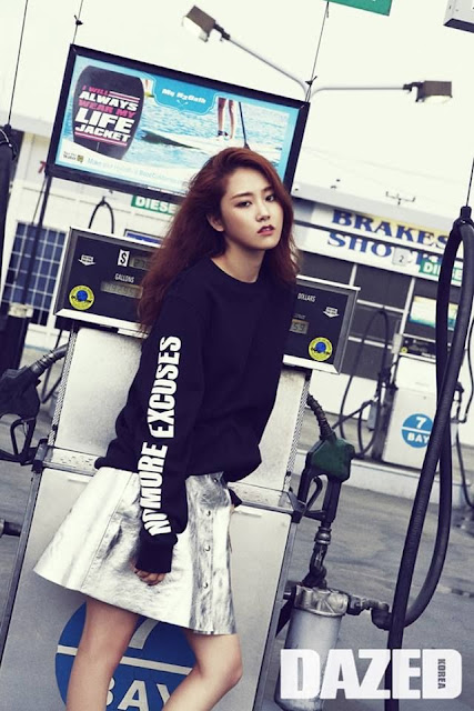 Steal Gayoon's Sporty Look for Dazed Korea