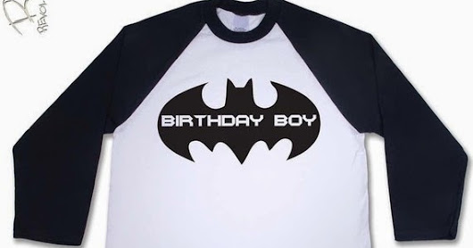Cheap Batman Tshirts for toddlers