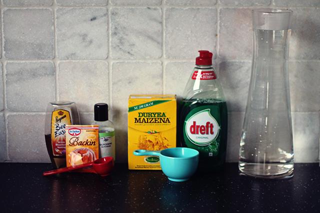 grote bellenblaas ingrediënten