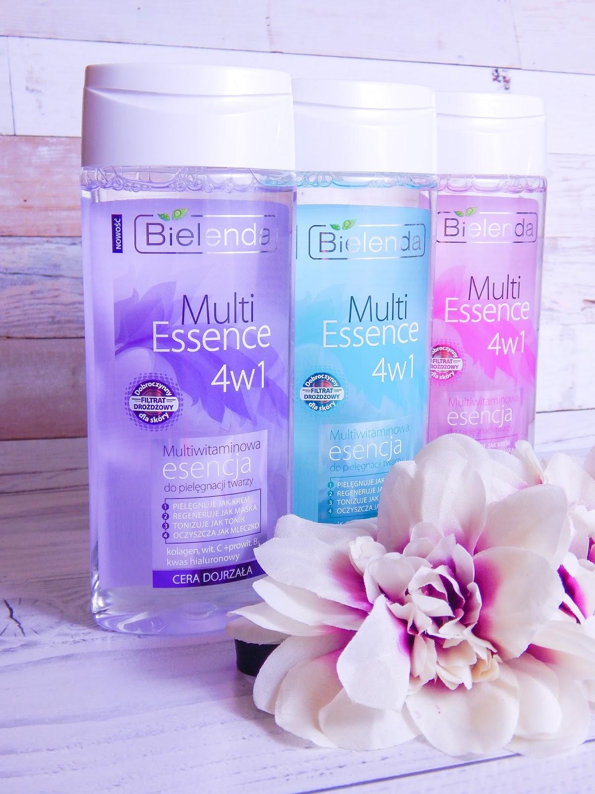 2 multi essence 4w1 bielenda recenzja multiwitamicowa esencja do pielęgnacji twarzy