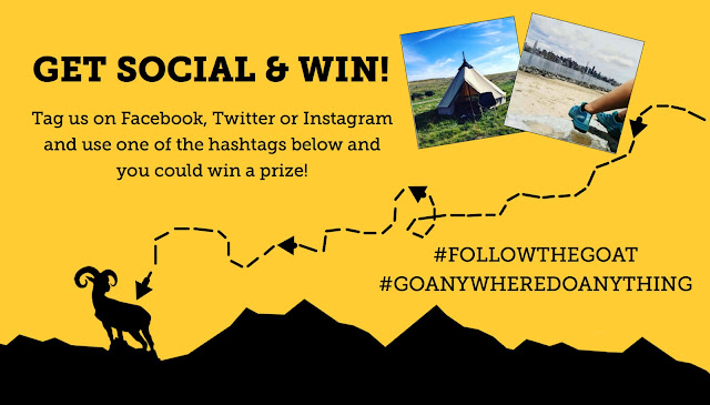 Follow The Goat & Go Anywhere, Do Anything - Snap and Win - Complete Outdoors