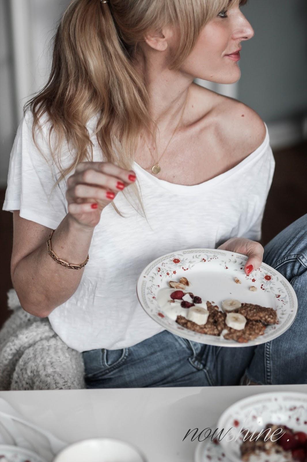 Frühstücksrezept Bananen Cookies aus dem Alpo Breakfast Club Booklet/ Nowshine Lifestyle Food Blog über 40