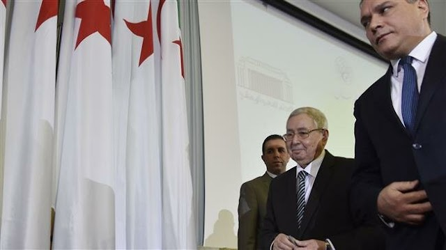 Algeria's parliament appoints Abdelkader Bensalah as interim president, students protest