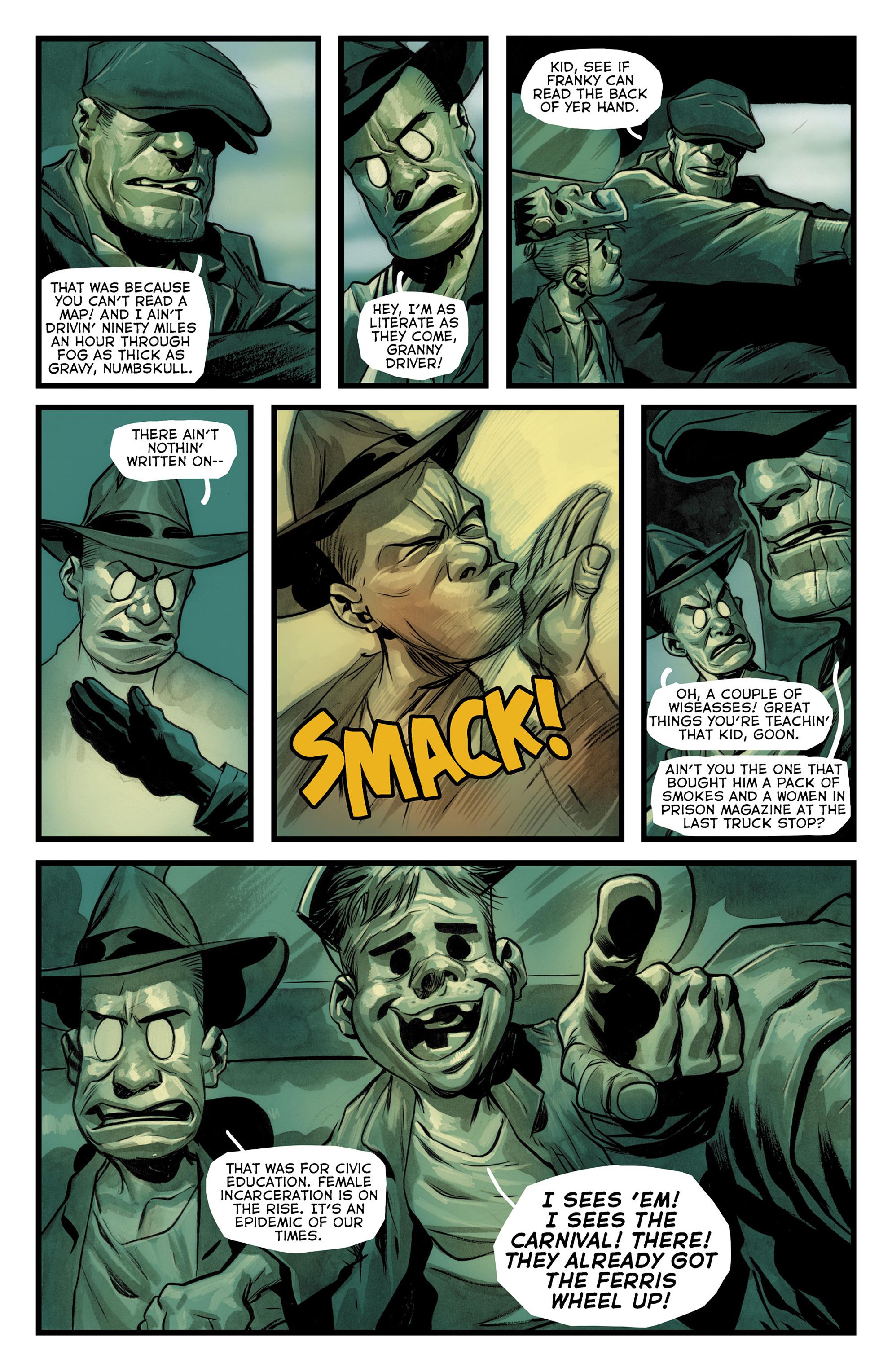 Read online The Goon: Theatre Bizarre comic -  Issue # Full - 7