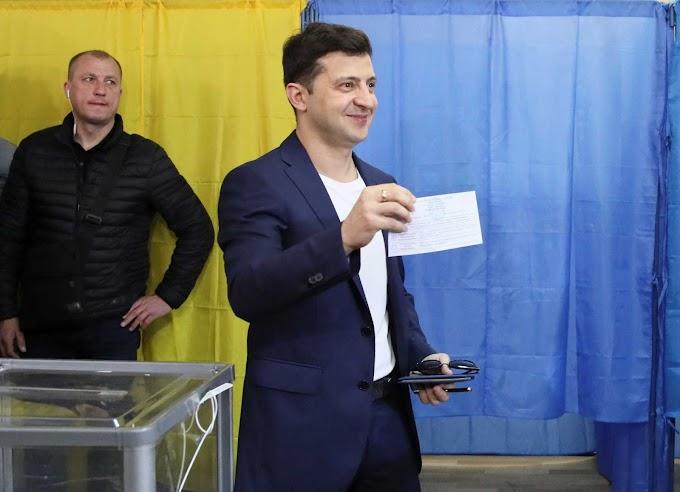 Zelenski gana las elecciones presidenciales de Ucrania con un 73,04 % de los votos