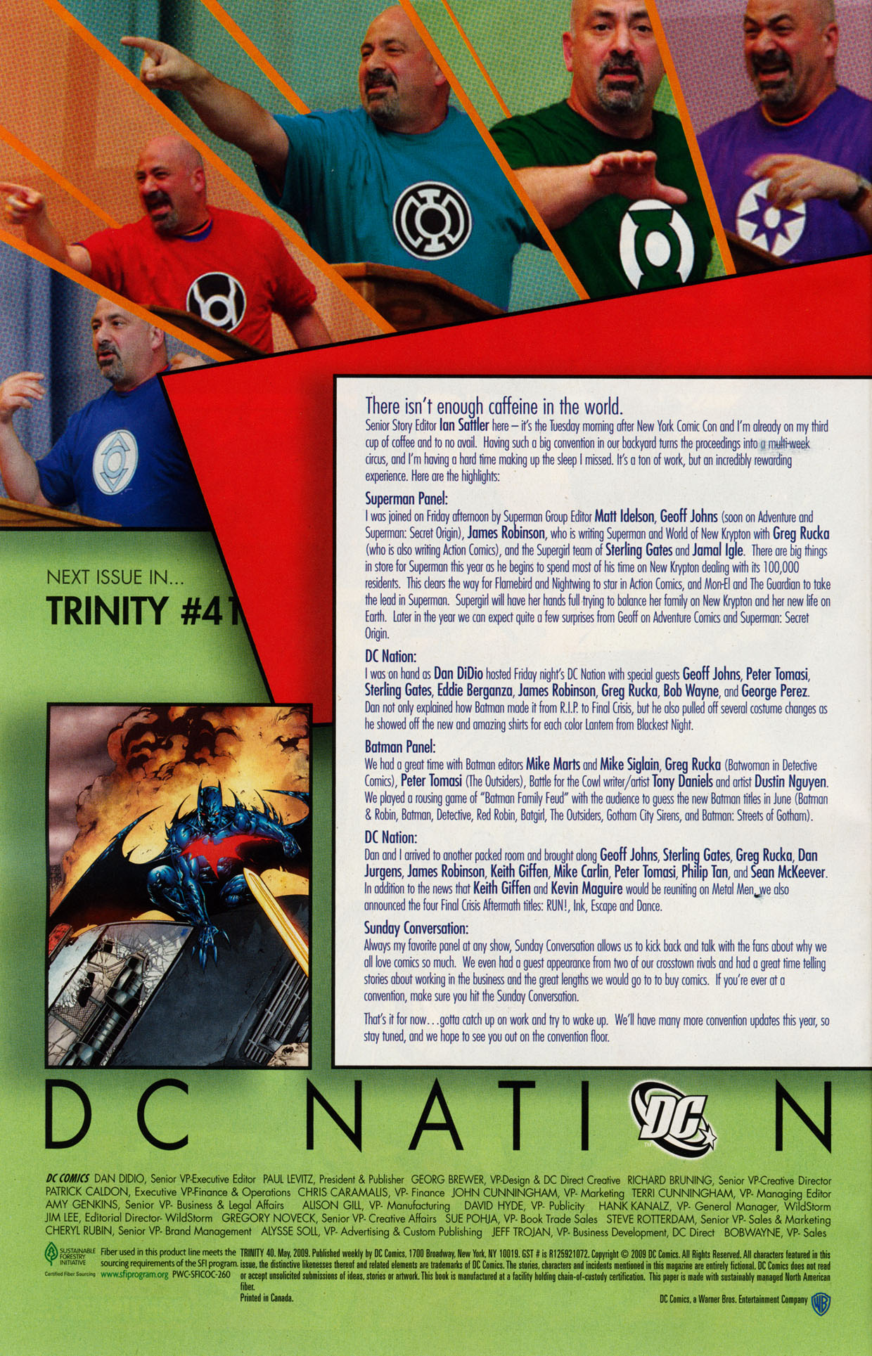 Read online Trinity (2008) comic -  Issue #40 - 29