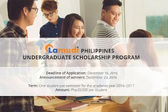 Lamudi Launches Undergraduate Scholarship Program