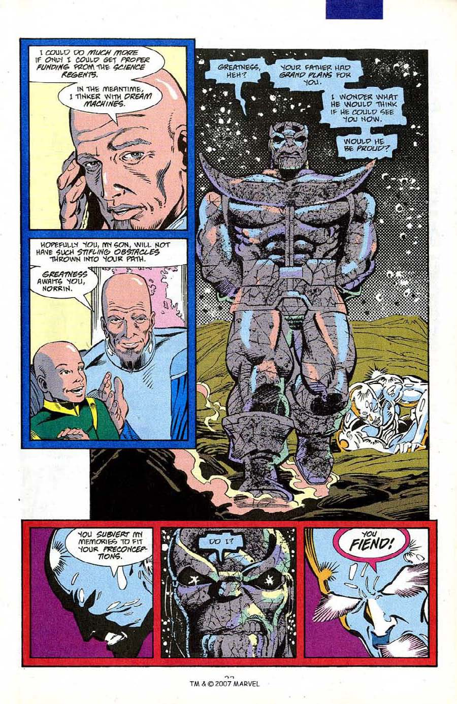 Read online Silver Surfer (1987) comic -  Issue #50 - 25