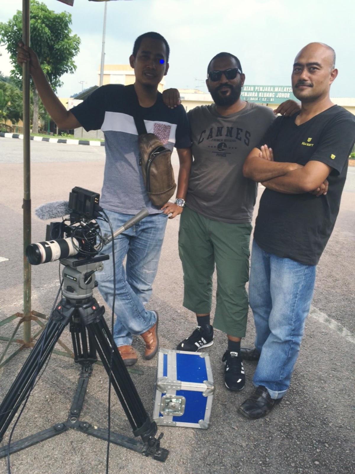 Zela Bakarin Dan Mariam Delimawati Lokasi Pengambaran Di Penjara Kluang Johor Sekitar Kuala Lumpur Tayangan Astro Ria 23 1 16 9 Malam