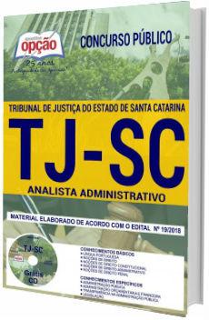 Apostila TJ-SC 2018 Analista Administrativo