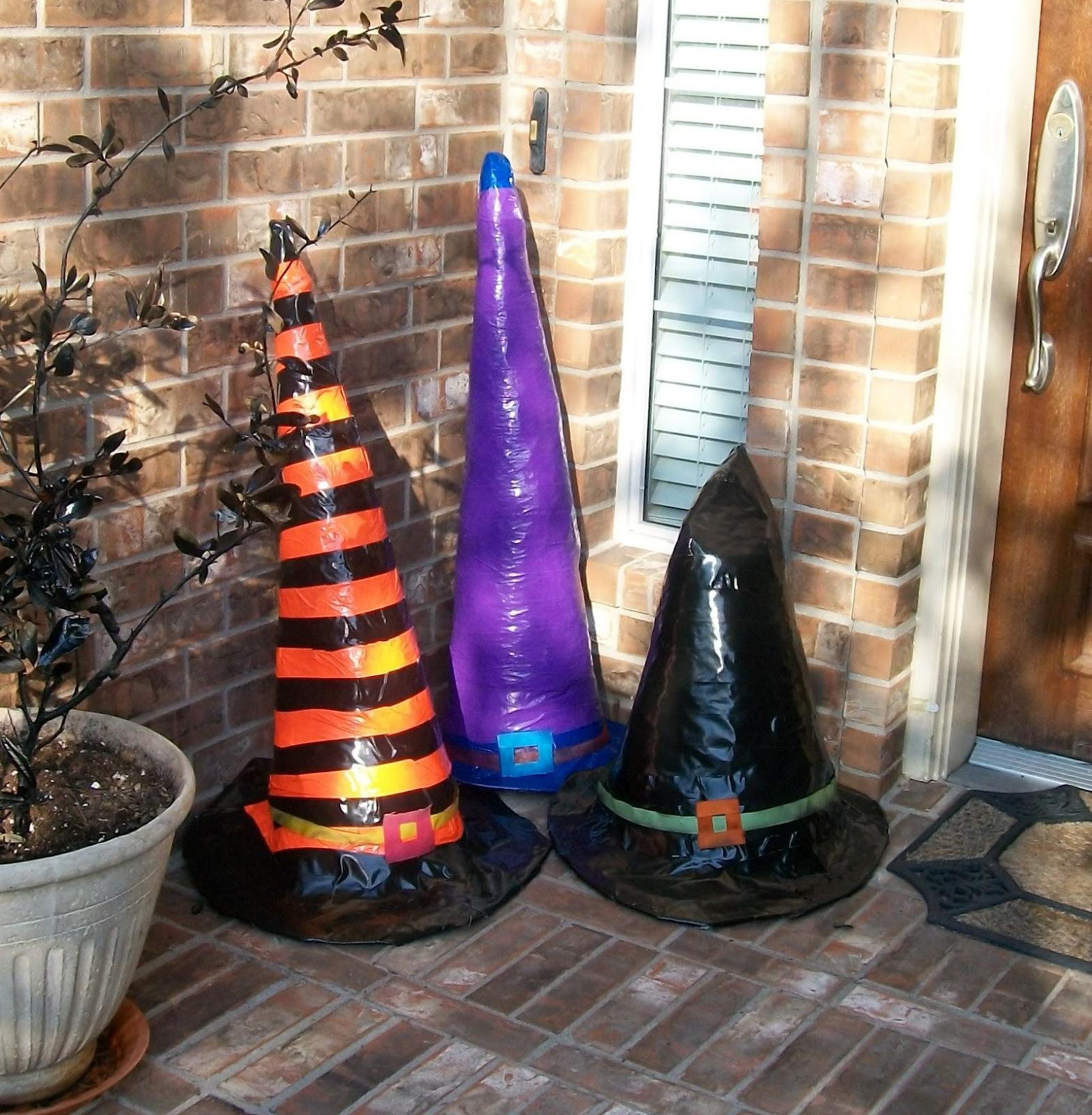 Halloween DIY : Spooky Giant Witch Hats! - The Home Guru