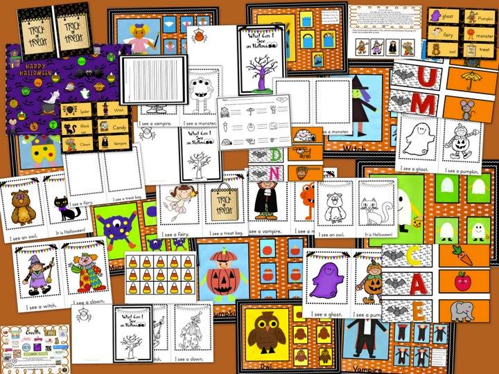 https://www.teacherspayteachers.com/Product/Halloween-I-CAN-DRAW-I-CAN-WRITE-I-CAN-READ-FUN-PACK-155980