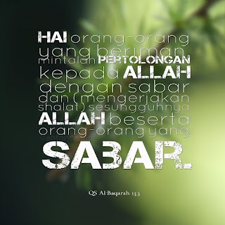 Display Picture Gratis QS Al-Baqarah 153