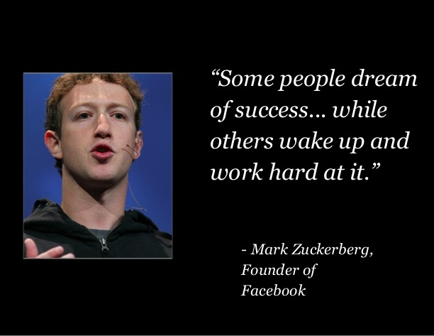 Mark Zuckerberg Business Quotes Mike Schiemer Social Media Startup Entrepreneur Quote