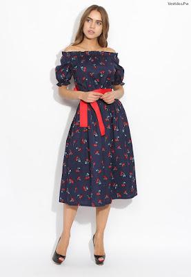modelos de vestidos casuales