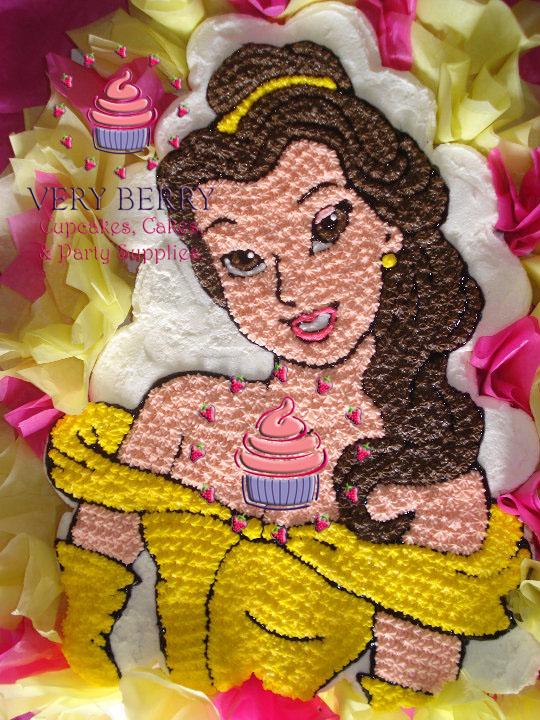 Veryberry Cupcakes Princess Belle Cupcake Cake