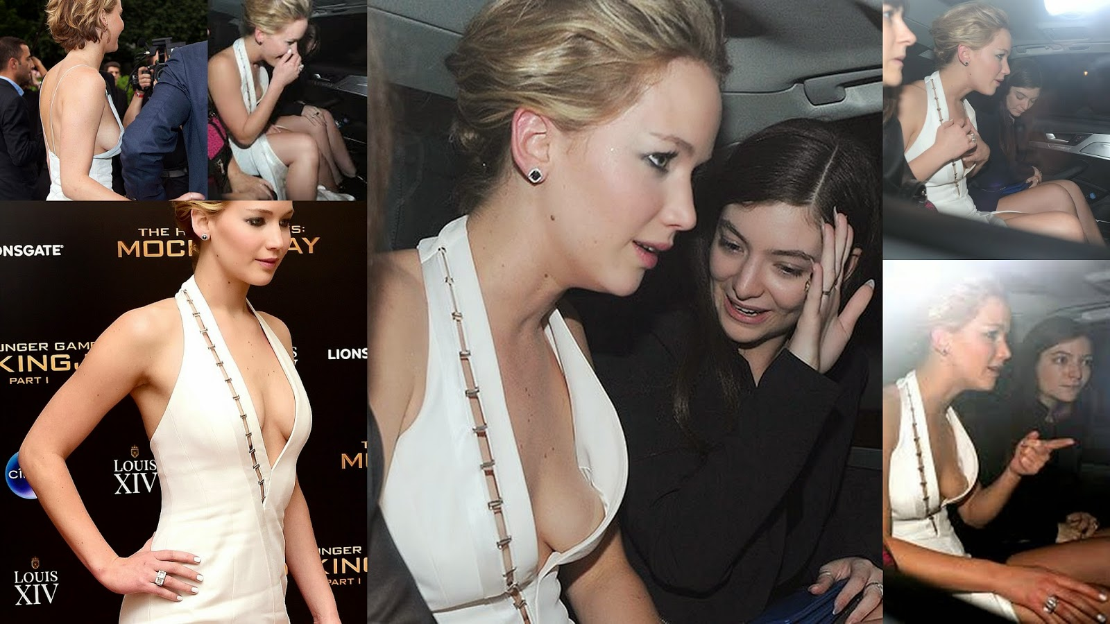 Jennifer Lawrence Many Time Suffers Nip Slip In Party Or After Party Jennifer Just Cant Catch A Break The Hunger Games Actress Who Was A Victim Of A