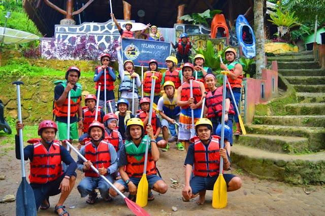 Telapak Sumut Rafting di Ancol Arung Jeram