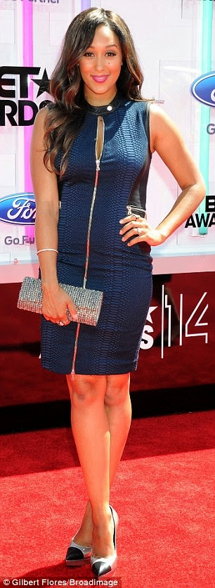 article 2674348 1F40878E00000578 605 306x836 Red Carpet photos from 2014 BET Awards + Full List of Winners