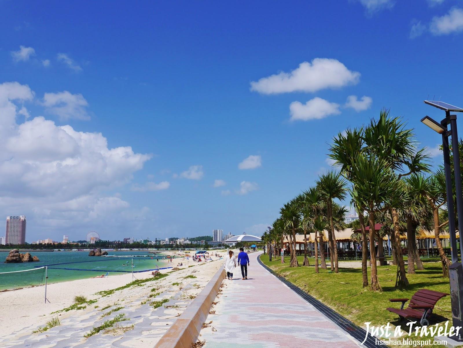 沖繩-海灘-推薦-安良波海灘-Araha-Beach-アラハビーチ-Okinawa-beach-recommendation