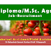 Diploma in Agriculture / M. Sc. Agri Jobs in Dr Balasaheb Sawant Konkan Krishi Vidyapeeth