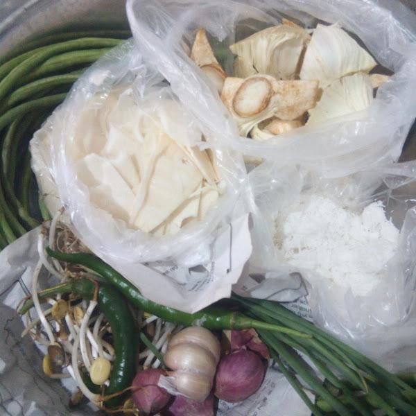 Resep Sayur Lodeh dengan Rebung, Kluwih dan Kacang Panjang