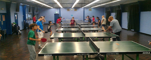 Jogos de tênis de mesa em Los Angeles