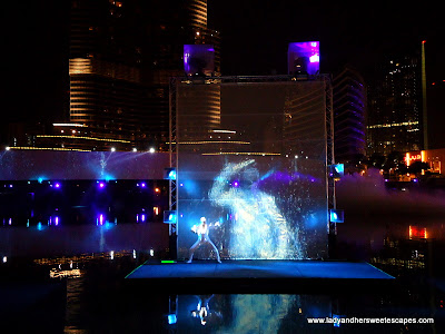 The Dubai Fountain Light 2