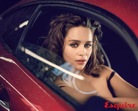 Emilia Clarke Sexiest Woman Alive 2015 by Esquire